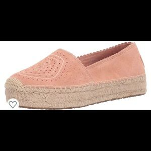 UGG Heidi Perf Moccasins Pink Size 9 Platforms